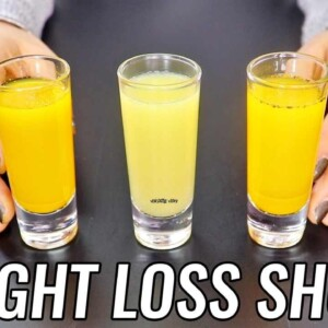 Morning Drink For Weight Loss | 3 Wellness Shots For Weight Loss | Weight Loss Drink Morning Routine