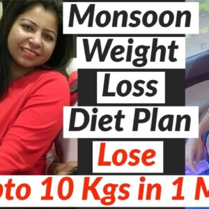 Diet Plan To Lose Weight Fast in Monsoon | Full Day Diet/Meal Plan for Weight Loss - Suman Pahuja
