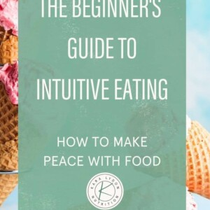 the beginners guide to intuitive eating