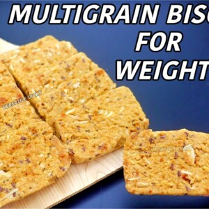 Weight Loss Biscuits | Weight Loss Oats Cookie Recipe | Healthy Oats Recipes For Weight Loss