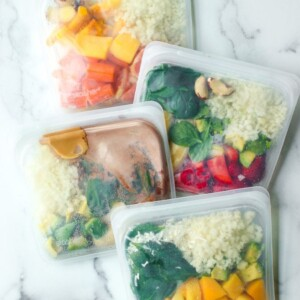 healthy make ahead frozen smoothie packs