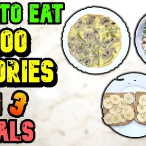 How To Eat 1200 Calories A Day In 3 Meals To Lose Weight