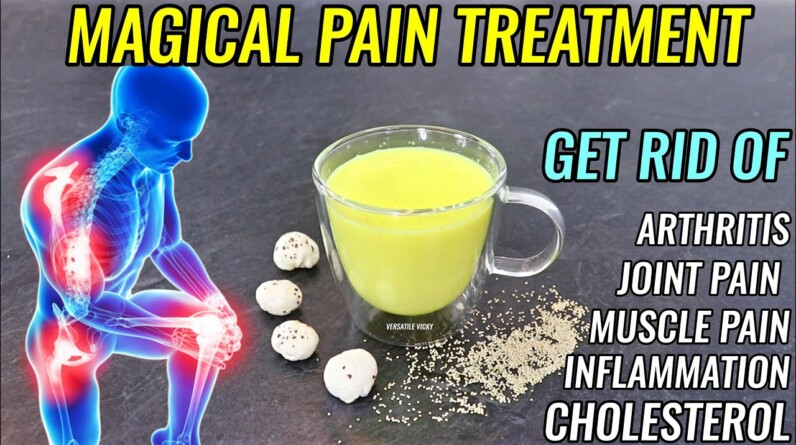 Magical Drink To Eliminate & Cure Joint Pain - Joint Pain Treatment