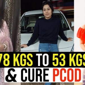 How I Lost 25 Kgs & Cure PCOS/PCOD Permanently By Suman Pahuja | Weight Loss Transformation Journey