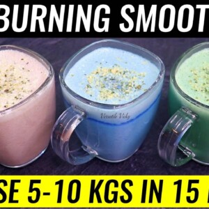 STRONGEST BELLY FAT BURNER | Lose 10Kg In 2 Weeks | 3 Weight Loss Smoothie Recipes