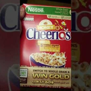 What 100 Calories of Cheerios Looks Like